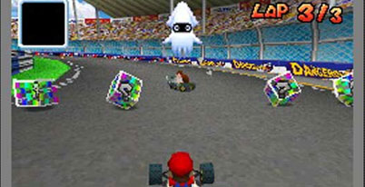 Nintendo DS : Mario Kart DS game manual | game instruction